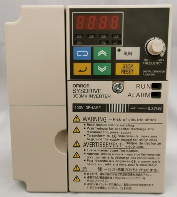 OMRON 3G3MV-A4002 Inverter 400V 3 Phase 0.37kW