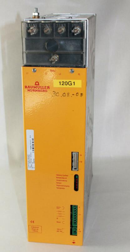 Baumüller BUG2-60-31-B-010 Power feed module