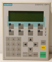 SIEMENS 6AV3607-1JC00-0AX1 Operator Interface Panel