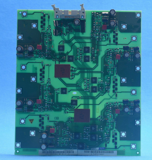 SIEMENS 6SE7031-5EF80 Trigger Board Driver Board