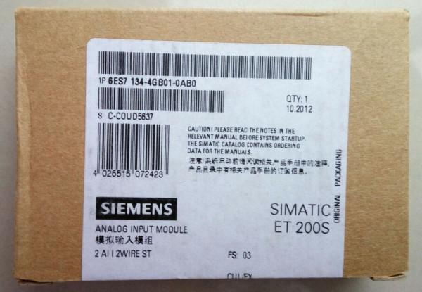 SIEMENS 6ES7134-4GB01-0AB0 20mA PLC Electronic Module