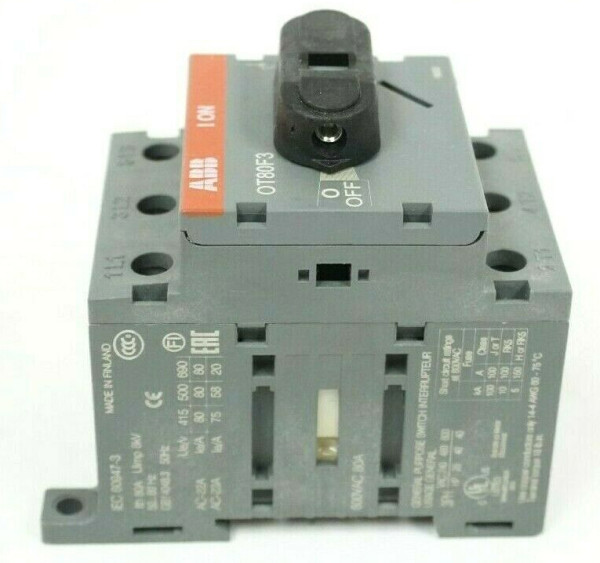 ABB 1SCA022057R1540 DISCONNECT SWITCH