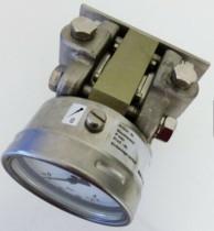Fischer DA03 DA0305HR03LW0000 40bar Differential Pressure Gauge