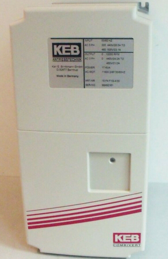 KEB COMBIVERT 15.F4.F1G-4I30 11kW 17kVA 2/4P
