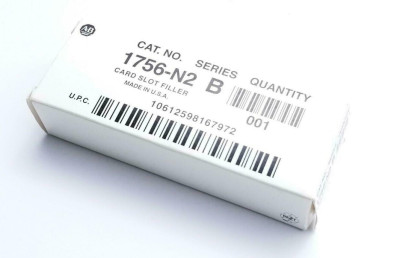 AB Allen-Bradley 1756-N2 Card Slot Filler