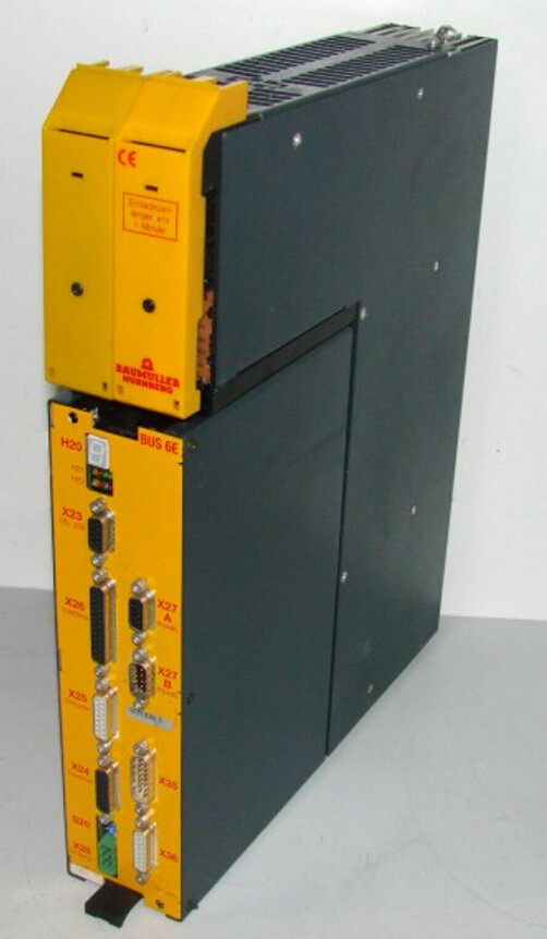 Baumüller Control Device BUS621-05/7,5-54-0-000 + BUS6-E-SM-0012