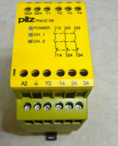 Pilz PNOZ x6 110-120VAC 3n/o SAFETY RELAY