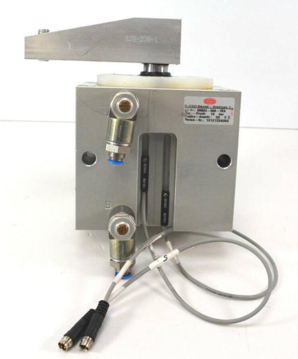 De-Sta-Co 89B63-008-1RA Schwenkspanner mit Spannarm + 2 Sensoren | 10bar | 30 V