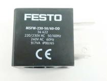 FESTO MSFW-230-50/60 Solenoid Valve Coil 9/7VA IP 00/65 AC240V 60HZ
