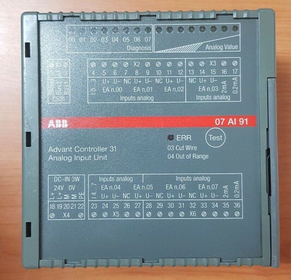 ABB ADVANT CONTROLLER 07AI91 GJR5251600R0202