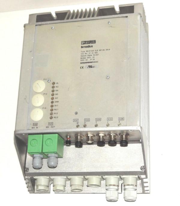 PHOENIX CONTACT IBS IP 500 ELR WP-6A DI4/4 2722603
