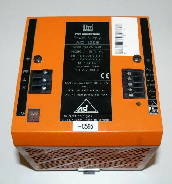 IFM POWER SUPPLY AC1208