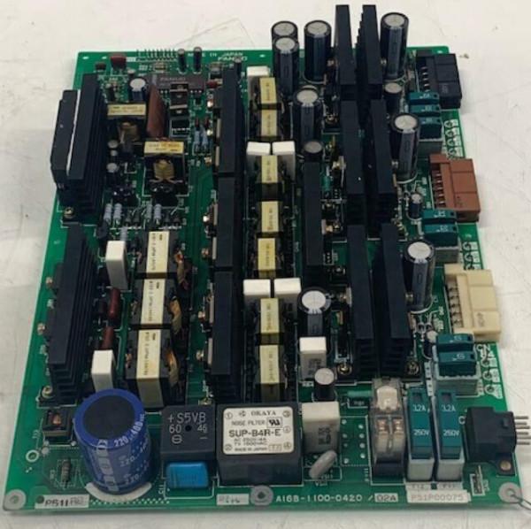 FANUC PC Board A16B-1100-0420/02A