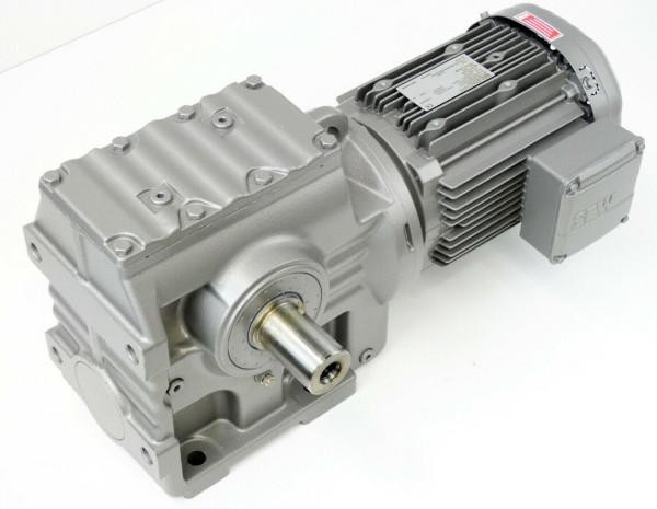 SEW EURODRIVE S77 DRS100M8/4/TF/DH Gear Motor 0,66kW 1420rpm I = 75,20