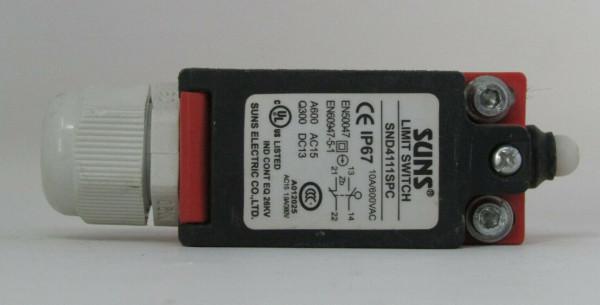 SUNS SND4111-SP-C LIMIT SWITCH 600-V 10-A
