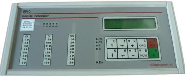 Exomatic 5540 Display Processor 5540D-155-4003
