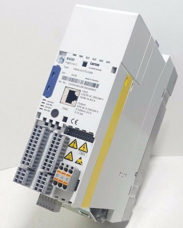 Lenze INVERTER DRIVES 8400 Type: E84AVHCE1124SXO
