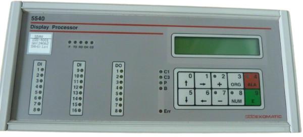 Exomatic 5540 Display Processor 5540-155-4001