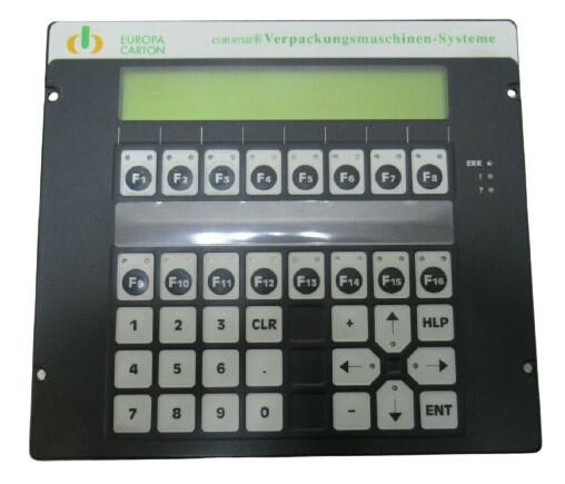 LAUER PCS 095 Operator Panel euromat Lauer PG095.507.A