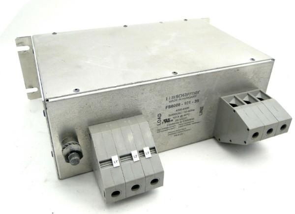 SCHAFFNER FS6008-101-35 EMI Line Filter