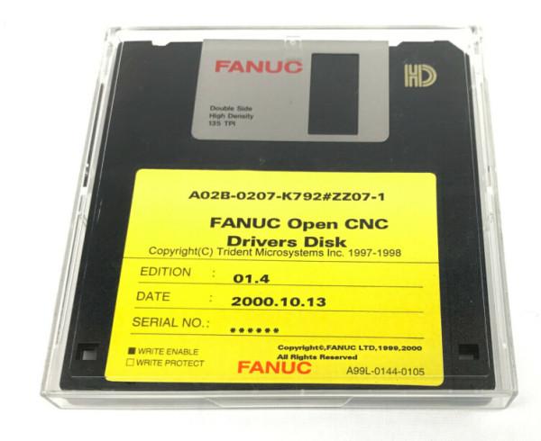 FANUC A02B-0207-K792#ZZ07-1 FLOPPY DISK
