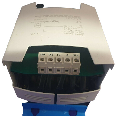LEGRAND 47024 Transformer 230/400 Volt Primary 24 VDC Secondary 10 Amp