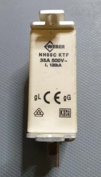 WEBER NH00C KTF 35A 500V