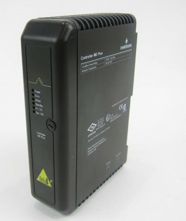 Emerson Delta V Controller MD Plus Card KJ2003X1-BB1 12P3439X012 VE3006