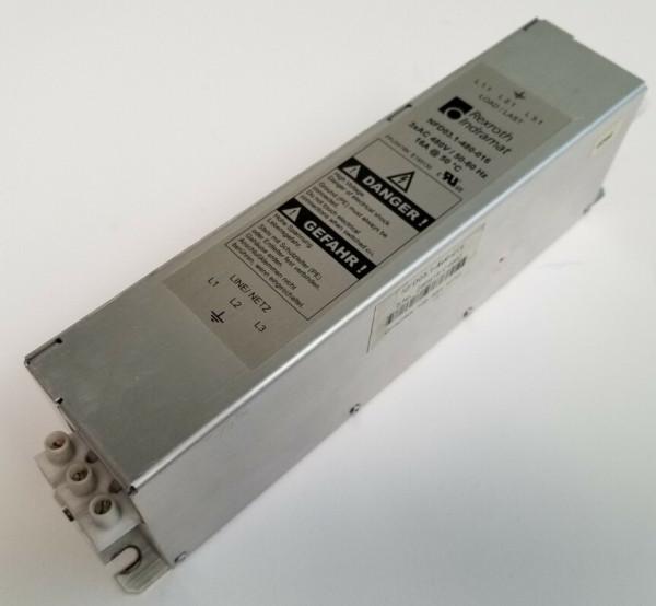 INDRAMAT POWER LINE FILTER NFD03.1-480-016