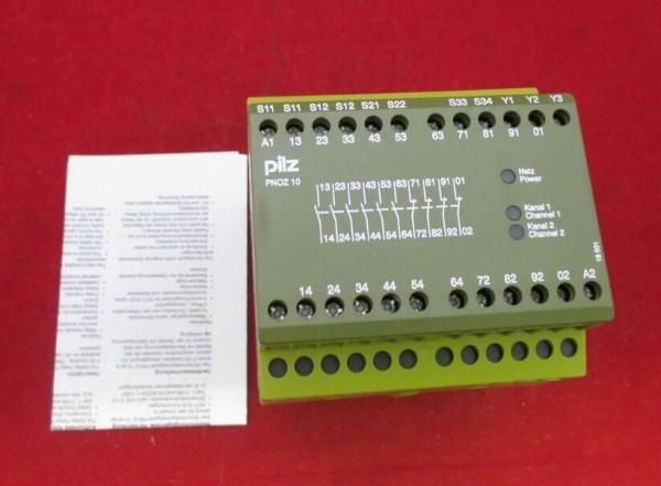 PILZ PNOZ10 24VDC Safety Relay