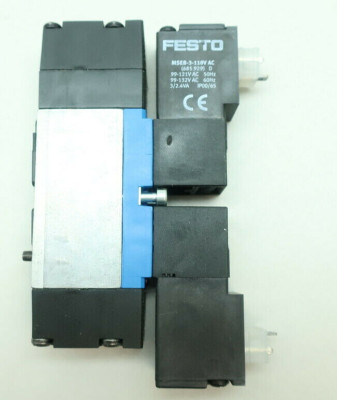 FESTO MN2H-5/3E-D-02 Solenoid Valve 99-132v-ac