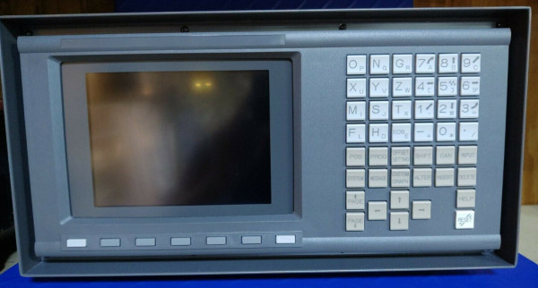 FANUC A02B-0166-C271#R 7.2-inch PowerMate LCD/MDI Unit