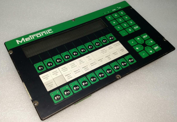 LAUER PCS900 PCS 900 PG 900.202.6 060695 Operator Panel