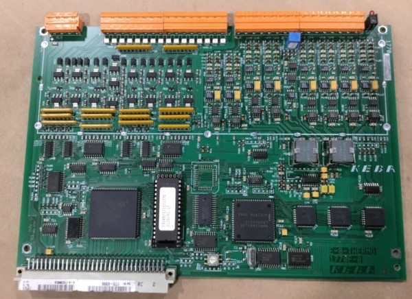 KEBA 1770F-0 Circuit Board Thermocouple Card Engle E-8-Thermo