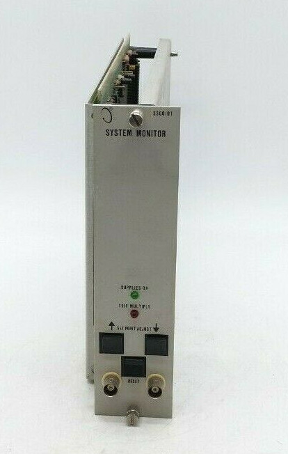 BENTLY NEVADA 3300/01 SYSTEM MONITOR PLC MODULE