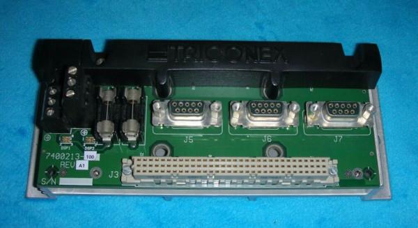 TRICONEX 7400213-100 TERMINATOR MODULE