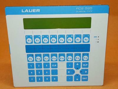 LAUER PCS 595 OPERATOR PANEL
