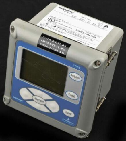 EMERSON 1056-01-22-38-HT CHNNL TRANSMITTER CONTACTING CONDUCTIVITY