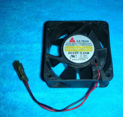 Y.S.TECH NFD246025BB-2I Cooling Fan