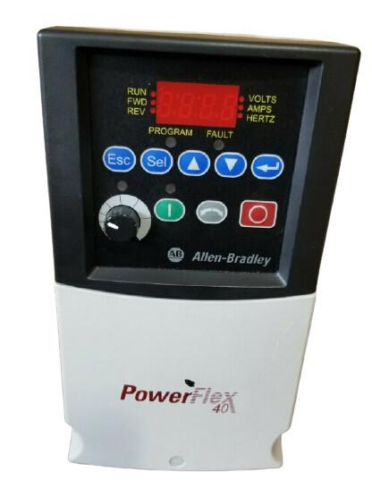 AB 22B-D010C104 PowerFlex 40 AC Drive 5.0HP 13A 480VAC
