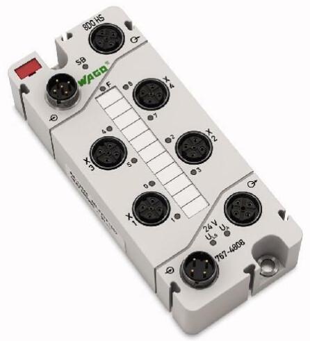 WAGO 767-2301 Digital Output Module, 24 V DC