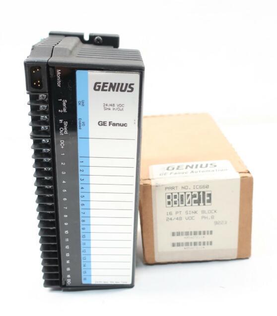 GE FANUC Input Block IC660BBD021W