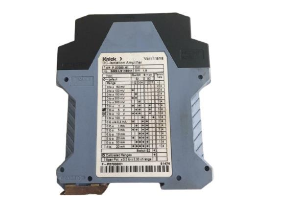 VARITRANS P27000H1 DC Isolation Amplifier