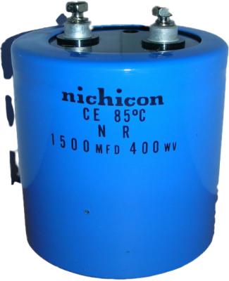 nichicon CE 85℃ 1500MFD 400WV
