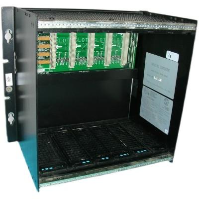 GE IC697CHS750 A five slot rear mounting PLC rack