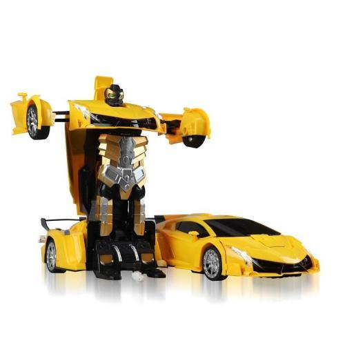 Electric Deform Robot Vehicle Remote Control Deformation Transform Robot Car Toy For Kids