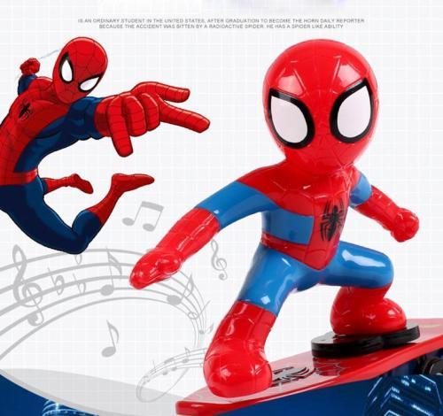 Spider-Man/Iron Man Scooter Stunt LED Spielzeug