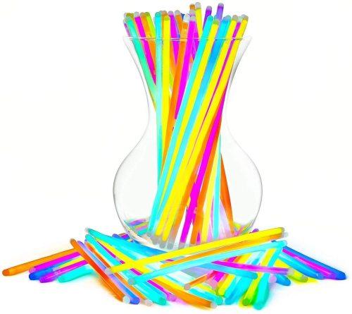 Glow Sticks Bulk Party Favors 100pk - 8  Glow In The Dark Party Supplies