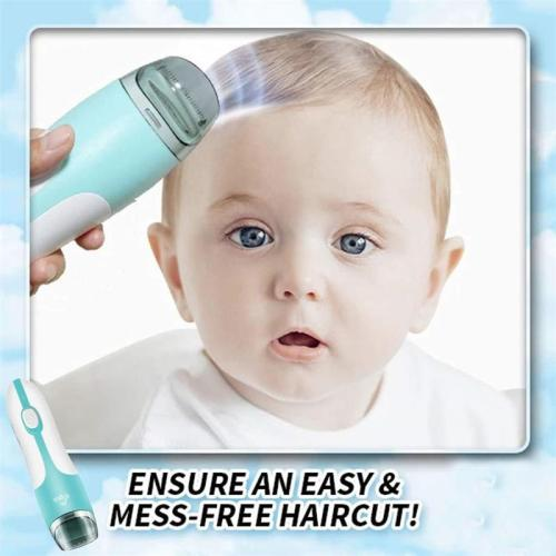 Baby Automatic Hair Suck Clipper