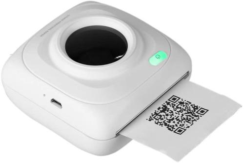 Mini Wireless Bluetooth Portable POS Thermal Picture Photo Printer for Android iOS